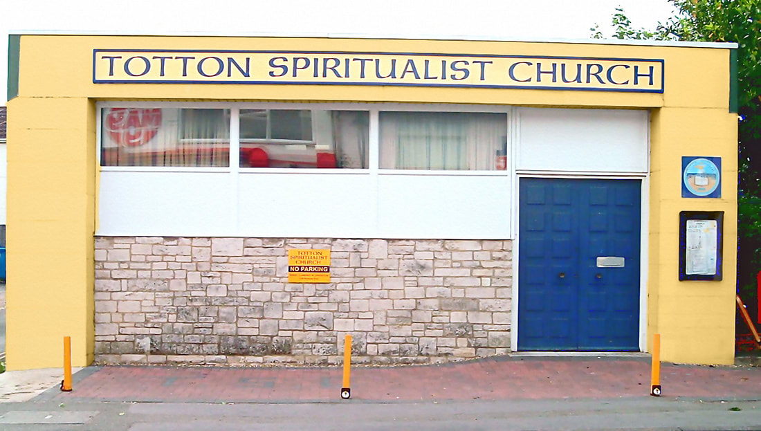 The front of Totton Spiritualist Church